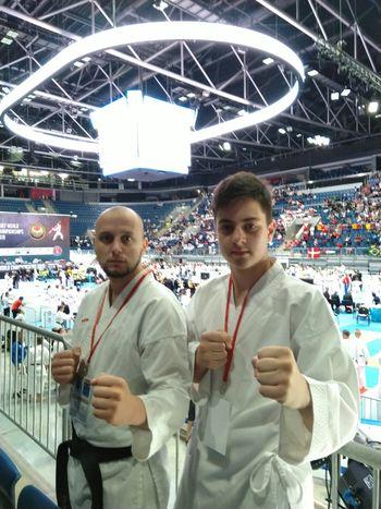 5.mesto na WUKF World Karate Cup
