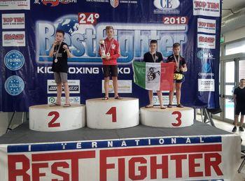 Srebro Tadeja Božiča na Svetovnem kickboxing pokalu