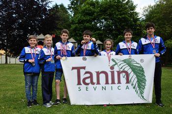 Devet medalj za sevniške karateiste v Avstriji
