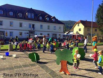 Trebanjski turisti spodbujali najmlajše h gibanju