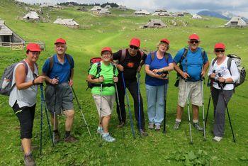 Rdeče kapice na Veliki planini