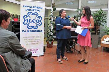 ILCO     Otvoritev razstave v knjižnici Slovenj Gradec