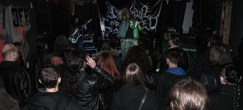 metal koncert v klubu ZAKON