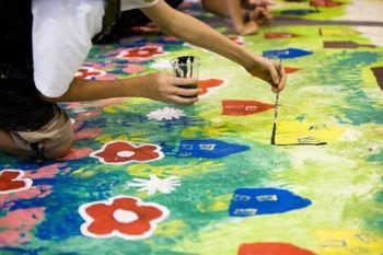 """Več kot 1000 otrok kreativno ustvarjalo """"Slovenski olimpijski plakat Rio 2016"""""""