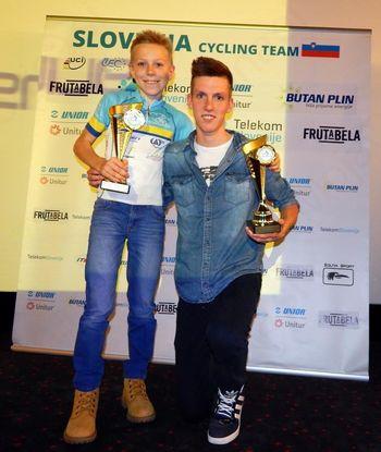 Podelitev priznanj najboljšim gorskim kolesarjem v sezoni 2014