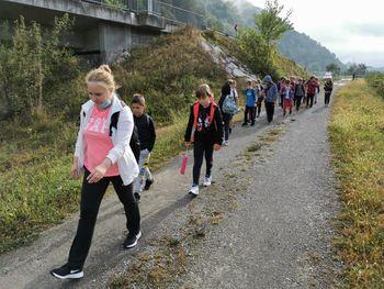 Tudi na OŠ Sava Kladnika Sevnica smo obeležili dan slovenskega športa