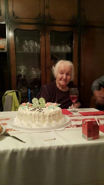99. rojstni dan Marije Udovč z Malkovca