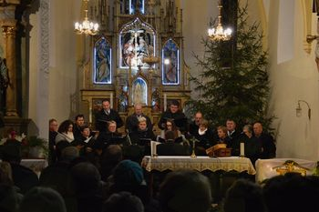 Božično-novoletni koncert v Tržišču