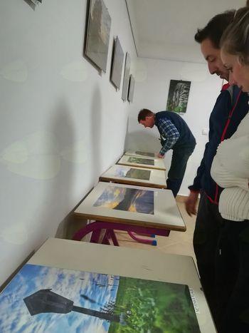 Odprtje fotografske razstave v Tržišču