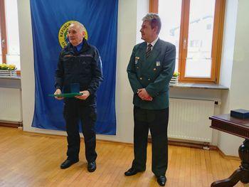 Angel Keber prejel Bronasti znak Civilne zaščite