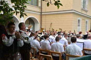 Letni koncert Pihalnega orkestra železarjev Ravne