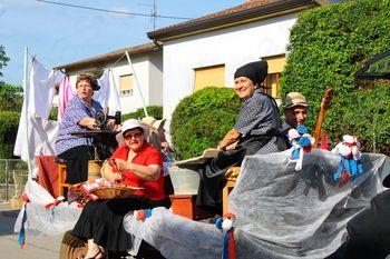 Društvo žena Miren-Orehovlje je sodelovalo na Prazniku špargljev v Orehovljah