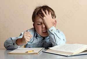 Stres med šolarji