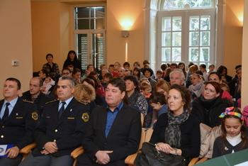 V Coroninijevem dvorcu zaključili projekt Varno na poti v šolo in domov