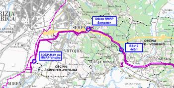 Problematika prenosnega plinovoda M3/1 Ajdovščina-Šempeter pri Gorici