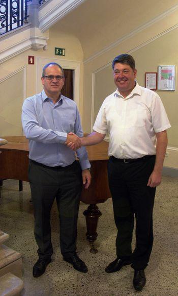 Vljudnostni obisk izraelskega veleposlanika