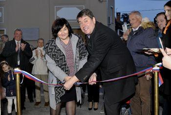 Krajevna knjižnica Šempeter pri Gorici je odprla svoja vrata