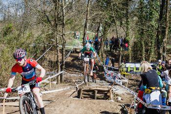 Svetovna elitna imena na gorsko kolesarski dirki XCO Vrtojba