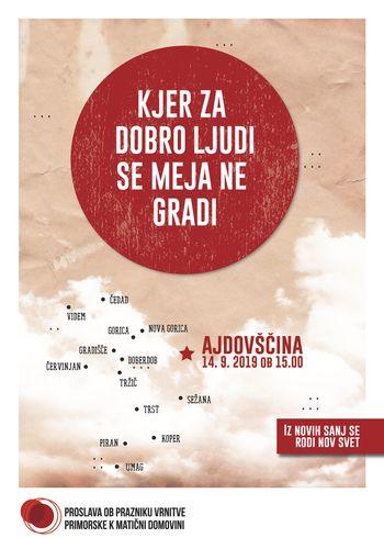 Proslava ob prazniku vrnitve Primorske k matični domovini v Ajdovščini