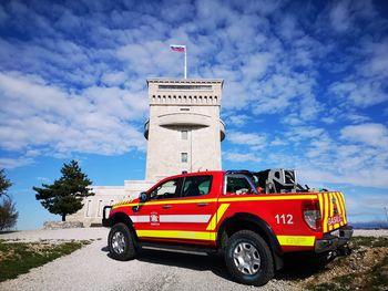 Slavnostni prevzem novega gasilskega vozila GVGP-1