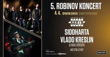 5. Robinov koncert - Siddharta in Vlado Kreslin