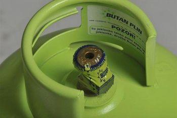 Brezplačna dostava plina v zeleni jeklenki na dom
