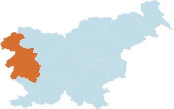 Goriška statistična regija uvrščena na rdeči seznam