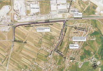 Začenja se izgradnja kolesarskih povezav ob Ullici 9. septembra v Vrtojbi ter Vrtojbensko cesto in obvoznico