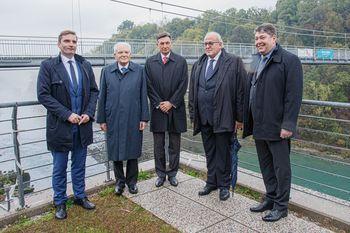 Med protokolarnim obiskom predsednika Pahor in Mattarella spoznala tudi dosedanje dosežke EZTS GO