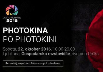 Prihaja največji fotografski dogodek v Sloveniji: Dan fotografije - Photokina po Photokini