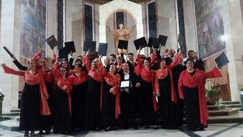 Komorni zbor Ipavska na Sardiniji