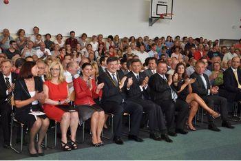 Slovesna otvoritev nove Podružnične osnovne šole Polica