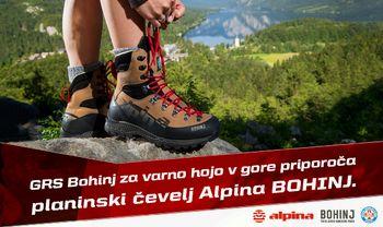 Nov Alpinin gojzar Bohinj