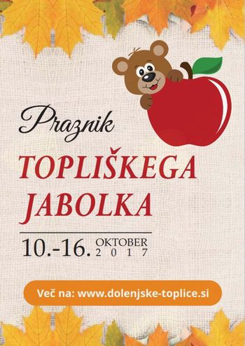 17. praznik topliškega jabolka se je začel!