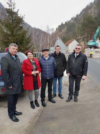 Minister dr. Peter Gašperšič na Koroškem