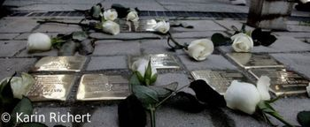 Postavitev spominskih kamnov Spotikavcev v Ljubljani