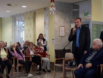Župan je obiskal Dom starejših