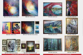 Otvoritev razstave Likovna dela iz mednarodnih kolonij Duplek Art