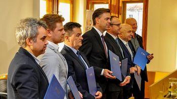 Podpisali dogovor o programskih prioritetah in sodelovanju