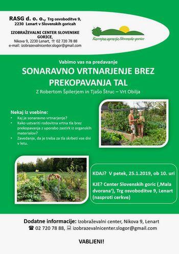 Predavanje Sonaravno vrtnarjenje