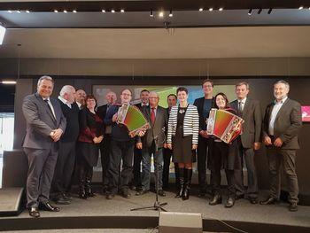 Župani Jugovzhodnega regijskega sveta združenja občin Slovenije se zavzemajo za finančno avtonomijo občin, večji regionalni razvoj in boljše sodelovanje z državo