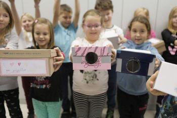 Mladi ustvarjalci so izdelali projektorje