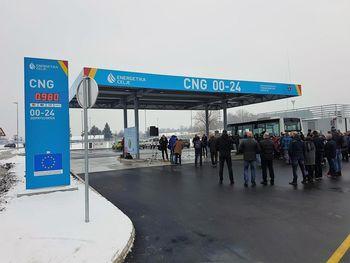 Odprtje CNG polnilnice in vzpostavitev javnega mestnega potniškega prometa v Celju