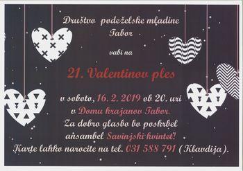 21. Valentinov ples