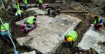 Arheološke najdbe z Gosposvetske ceste navdušile Ameriko