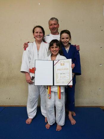 Judo klub Žiri z novim prvim mestom
