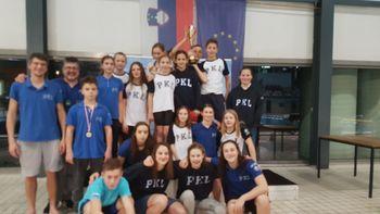 Pk Ljubljana ekipni državni prvak