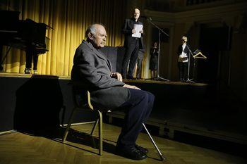 """""""Vesel sem, da sem v gledališču delal in ustvarjal v času, ki mu pravijo zlata doba celjskega teatra."""""""