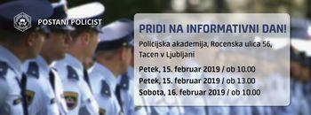 Vabilo na informativni dan policistov