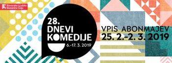Festival Dnevi komedije 2018/19